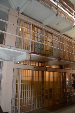 Cell Block at Alcatraz