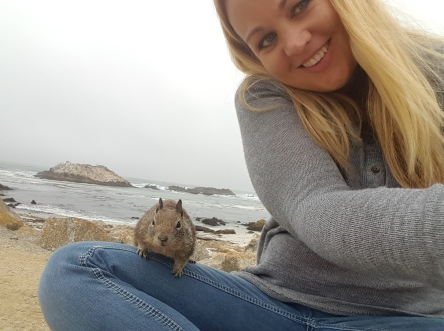 Brooke's squirrelfie