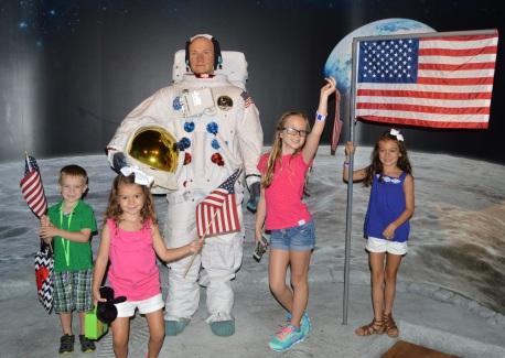 Landing on the Moon!