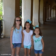 The girls in Balboa Park