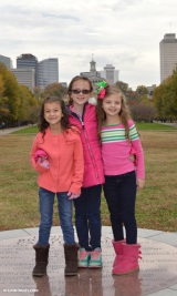 Cousins in front of Capital Building