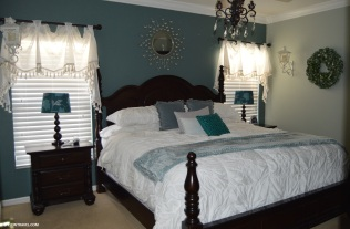 Frozen themed King bedroom