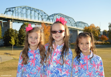 Arabella, Emily and Caitlyn in Lilly
