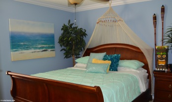 Moana themed King bedroom