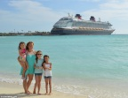 Disney Cruise Day 7 / Castaway Cay / 2017-01-27