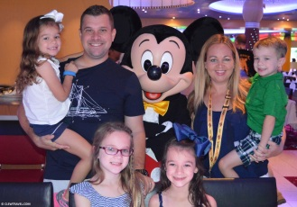 Family shot with Mickey