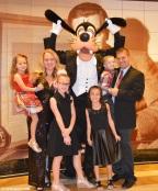 Disney Cruise Day 2 / Day at Sea / 2017-01-22
